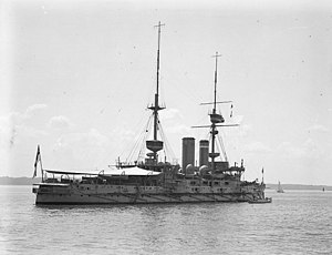 Formidable-class battleship - Image: HMS Implacable Spithead 1909 Flickr 4793355702 4792e 59389 o