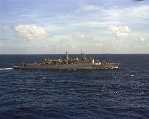 HMS London (D16) - HMS London in 1981