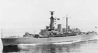 HMS Scylla (F71) - HMS Scylla after her Seawolf-conversion, in 1989