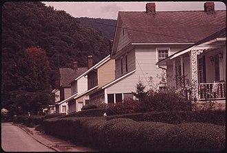 Lynch, Kentucky - Lynch in 1973