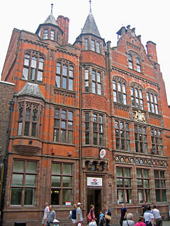 Grosvenor Club and North and South Wales Bank grade II listed building in the United kingdom
