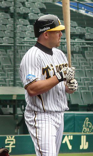 Kevin Mench - Mench with the Hanshin Tigers