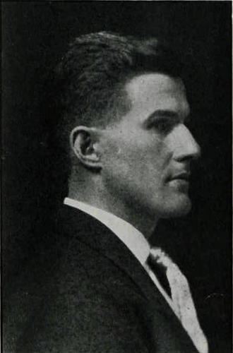 Harry Helmer - Helmer pictured in Cheppewa 1910, Central Michigan yearbook