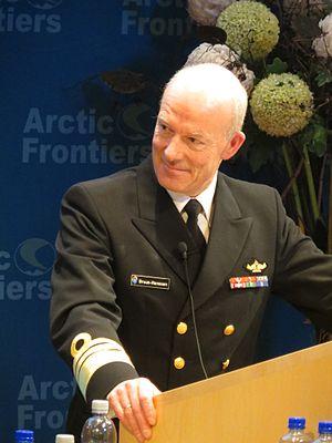 Chief of Defence (Norway) - Image: Haakon Bruun Hanssen admiral IMG 5133