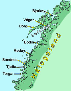 Hålogaland district of Norway