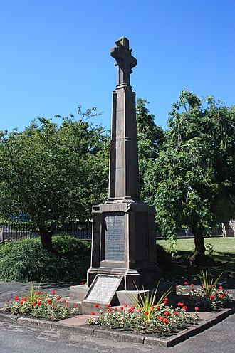 Haddington, East Lothian - Haddington War Memorial by Pilkington Jackson