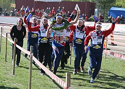 Norsk seger i damernas tiomila 1