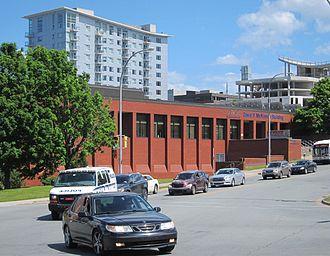 Halifax Regional Police - Police headquarters on Gottingen Street