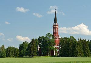 Halliste - Image: Halliste kirik