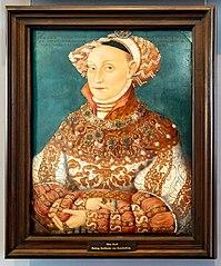 Portrait of Hedwig Jagiellon (1513–1573).