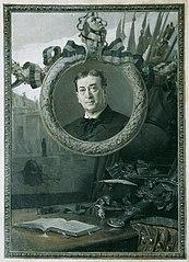 Der Schauspieler Adolf von Sonnenthal