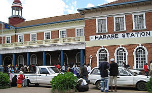 Harare Central station