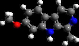 Harmine - Image: Harmine 3d structure