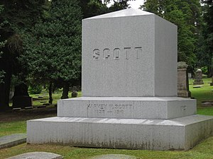 River View Cemetery (Portland, Oregon) - Grave of Harvey W. Scott