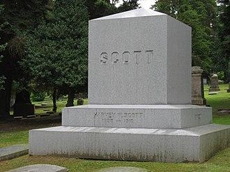 River View Cemetery (Portland, Oregon) - Grave of Harvey W. Scott