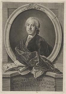 Johann Adolph Hasse. Stich von Lorenzo Zucchi (Quelle: Wikimedia)