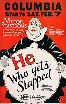 <i>He Who Gets Slapped</i> 1924 American silent drama film directed by Victor Sjöström