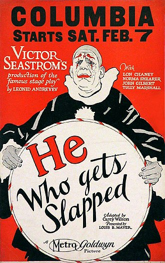 He Who Gets Slapped - theatrical release poster