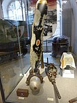 Heeresgeschichtliches Museum Teile eines abgeschossenen allierten Bombers im 2. Weltkrieg.jpg