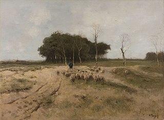 On the Heath near Laren