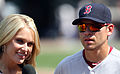 Heidi Watney and Boston Red Sox center fielder Jacoby Ellsbury (2) (5959490138).jpg