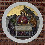 Heilig-Kreuz (Berlin-Wilmersdorf) Emmausmahl.JPG