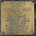 Hellenthal, Kölner Str. 27, Stolperstein Pfarrer Leonhard Bauer.jpg