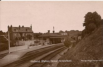 Nickey line - Image: Hemel Hempsted (Midland) railway station
