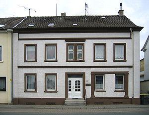 Hans Prinzhorn - Prinzhorn's birthplace in Hemer