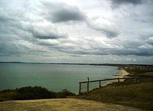 Poole Bay - Poole Bay from Hengistbury Head