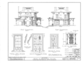 Henry A. Brewster House, Spring and Washington Streets, Northwest, Rochester, Monroe County, NY HABS NY,28-ROCH,9- (sheet 6 of 10).png