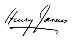Henry James signature (1907).png