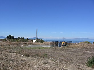 Hercules station - The proposed station site in October 2012