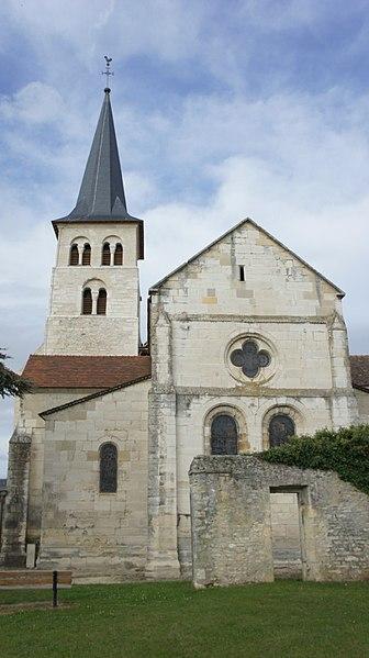 église d'Hermonville vue de l'est.