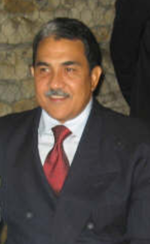 Colombian parapolitics scandal - Hernando Molina Araújo, governor of Cesar Department.