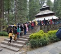 Hidimba Devi Temple with Worshippers - Manali 2014-05-11 2680-2681.TIF
