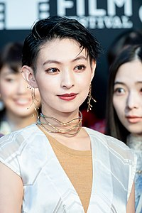 """Hinami Kyooko from """"21st Century Girl"""" at Opening Ceremony of the Tokyo International Film Festival 2018 (44894003194).jpg"""