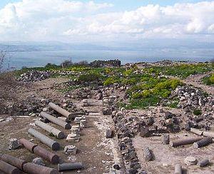749 Galilee earthquake - Ruins of Hippos/Sussita