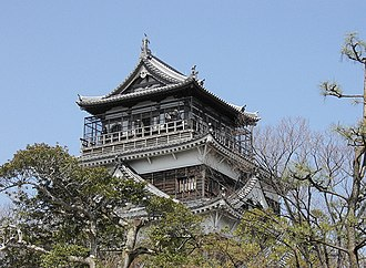 Hiroshima Castle - Reconstructed main keep.