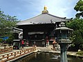 Hojochi Pond and Daishido Hall of Ryozenji Temple 2.JPG