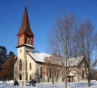 Church of the Holy Trinity (Rollingstone, Minnesota) church building in Rollingstone, United States of America