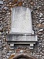 Holy Trinity Church Nuffield, Oxon, England - Butler & Bisshopp memorial.jpg