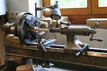 Specialty Wood Lathe Pic For Turning Captive Rings