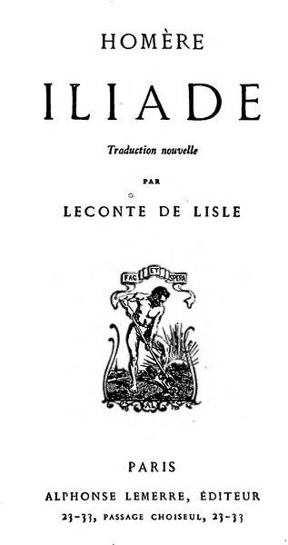 File:Homère - Iliade, trad. Leconte de Lisle.djvu