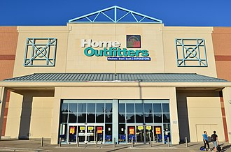 Home Outfitters - Home Outfitters at First Markham Place (now closed) in Markham, Ontario