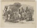 Homo sapiens - Manganja- en Ajawastam, Zambia - 1864 - Print - Iconographia Zoologica - Special Collections University of Amsterdam - UBA01 IZ19400078.tif