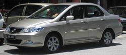 Honda City (fourth generation, second facelift) (front), Serdang.jpg