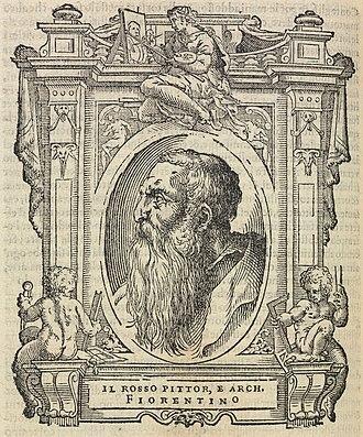 Rosso Fiorentino - Il Rosso, by Giorgio Vasari