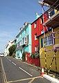 Houses on Fore Street, Kingswear - geograph.org.uk - 807797.jpg