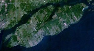 Howe Island - NASA image